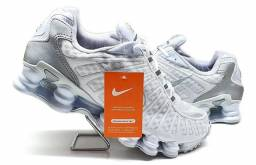 Tênis Nike Shox 12 Molas Importado Refletivo Masculino 38 ao 43