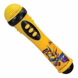 Microfone infantil bumblebee transformes tdmf01