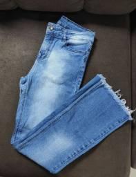 Calça jeans da tratto R$15,00