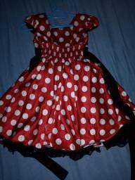 Vestido da Minnie R$ 50,00