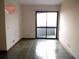 Apartamento com 3 dormitórios para alugar, 85 m² por R$ 1.200/mês - Alto da Boa Vista - Ri