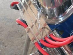 Regua cabos de vela v8 em aluminio usinado