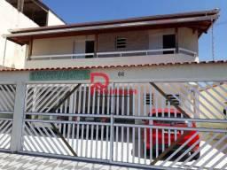 Casa para alugar com 2 dormitórios em Glória, Praia grande cod:1405
