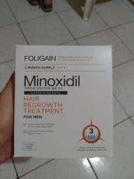 Caixa Lacrada Minoxidil Foligain 5% Com 3 Frascos Original