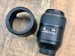 Objetiva Af-s Vr Micro-nikkon 105mm F/2.8g If-ed