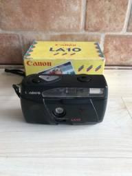 Máquina fotográfica antiga canon LA10