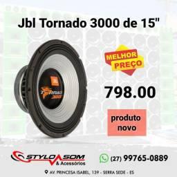 """Alto Falante Jbl Tornado 3000 de 15"""" novo"""