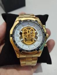 10X SemJuros Relógio Winner automático de luxo novo