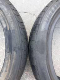Vendo par de pneu 165/50 15 delinte