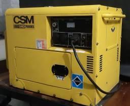 Vendo Gerador 7000ES Cabinado Diesel Partida Elétrica