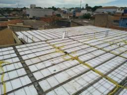 Lajes e concreto usinado