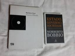 """Kit Livros Filosofia e Politica """"Usados"""" *"""