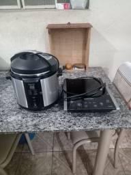 Panela elétrica com defeito e Cooktop indução com defeito