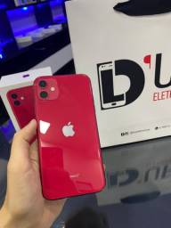 iPhone 11 256GB RED garantia Apple completo