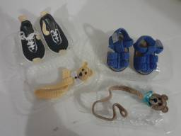 Sapatos de crianca