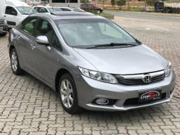 Civic sedan 1.8 EXS com teto solar - 2013 - Impecavel
