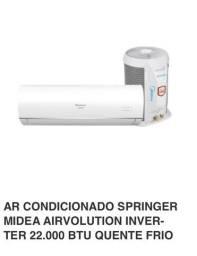 Ar Condicionado inverter 22mil BTUS Quente e Frio