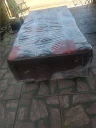 Vendo cama box solteiro conjugado nova no plástico entrego c taxa!