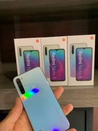 Xiaomi Note 8 64gb branco azul preto novos lacrados