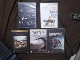 Vendo 5 filmes dvd