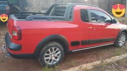 '' Oportunidade! Linda Saveiro Cross Cabine Estendida 1.6 Flex 2013/2014 completa.'''
