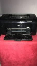 Impressora laser hp p1102w toda revisada