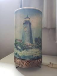 Luminária Antiga - 1956