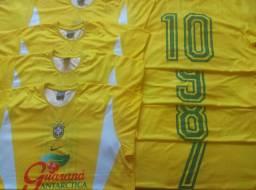 Jogo de Camisa Oficial Brasil Nike - 17 Camisas