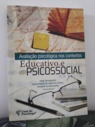 Livro Avaliação psicológica nos contextos educativo e psicossocial