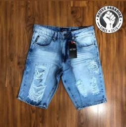 Bermudas jeans de grife premium