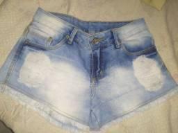 Short Jeans 36 20,00 Cada