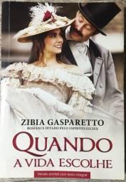 Livro Romance Quando A Vida Escolhe Zibia Gasparetto Pocket