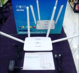Roteador sem fio 300mpbs 4 antenas novos na caixa com garantia
