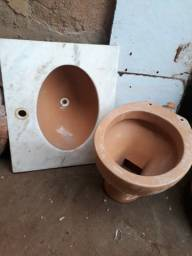 Pedra+cuba+vaso sanitário