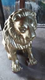 Leão escultura