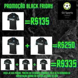 Camisas de time Promoção Black Friday