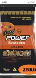 Ração Dog Power 25kg super premium