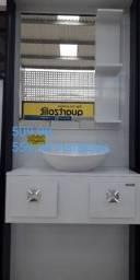 Armario de banheiro em mdf