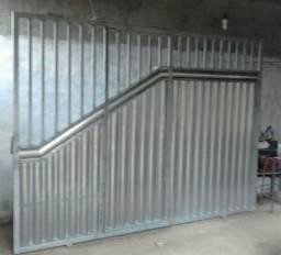 Portão de garagem novo!