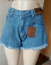 Shorts Jeans Feminino Godê