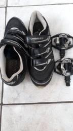 Pedal e sapatilha
