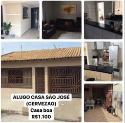 Alugo casa São José