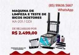 Maquina de Teste e Limpeza de Injetores