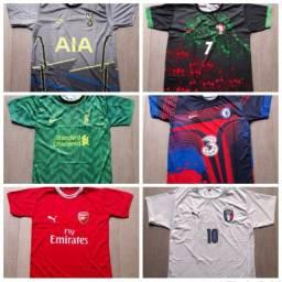 Camiseta de time - Só as mais Top's! Nacionais e internacionais! Promoção!