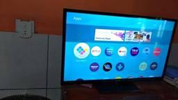 Tv smart 32 pouco tempo uso com nota fiscal