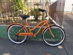 Bicicleta Beach Laranja