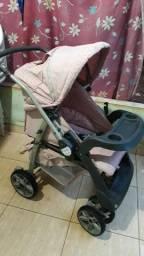 Carrinho de bebê feminino Da Burigotto