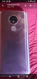 Vendo ou troco celular Motorola G7 Power bem conservado 64gigas de nem 4de ram