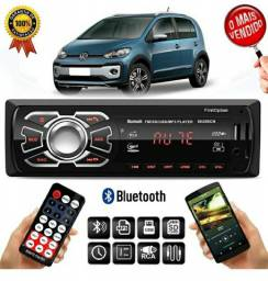 Radio Bluetooth Carro Caminhão Veicular Caixa Bob Mp3 Player Fm Usb P2