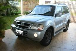 PAJERO FULL 7 LUG. A DIESEL 3.2 05/05, IMPECÁVEL, 100%, REVISADA, MANUAL, CHAVE RESERVA